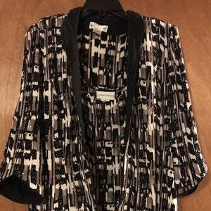 Woman's 2 piece evening top and jacket (OLCC)